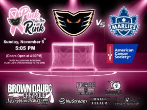 pink in the rink flyer