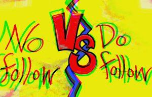 Dofollow vs. nofollow links