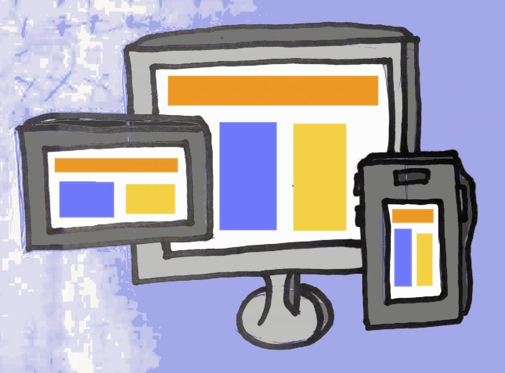 Graphic design and responsive design