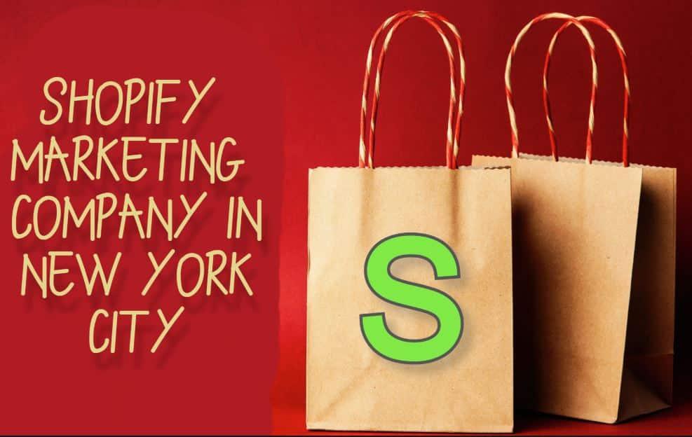 Shopify marketing company in New York City