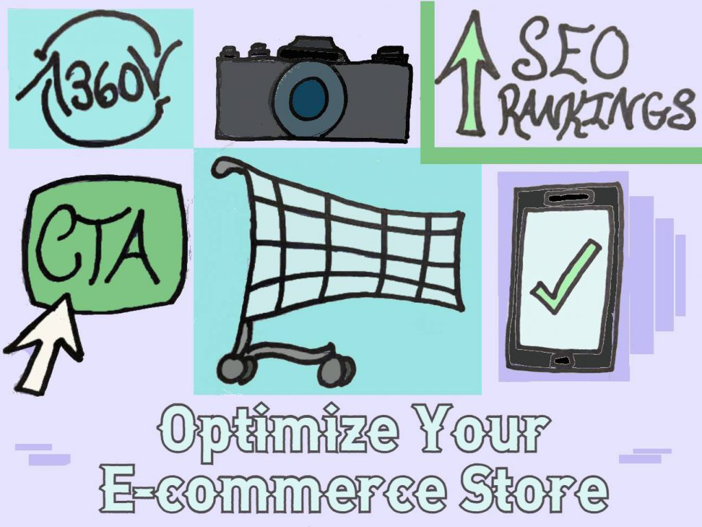 Is there a way to optimize an E-commerce store